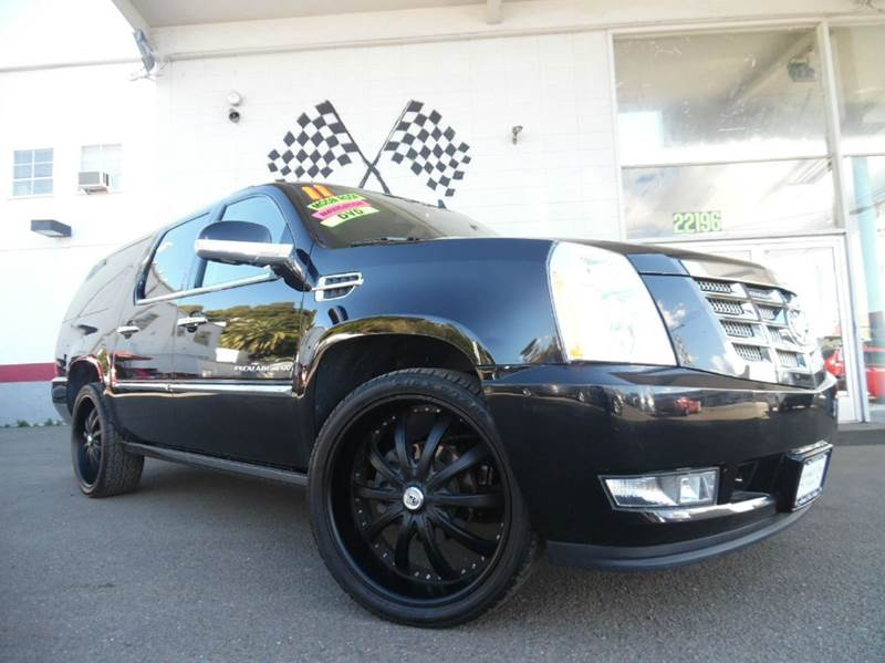 2011 CADILLAC ESCALADE ESV PREMIUM AWD 4DR SUV black vin 1gys4jef2br133304 this cadillac escalade
