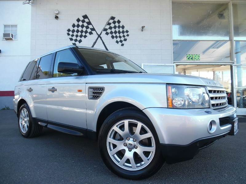 2006 LAND ROVER RANGE ROVER SPORT HSE 4DR SUV 4WD silver vin salsf25436a944241 fully loaded m