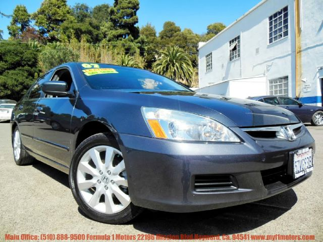 2007 HONDA ACCORD EX-L V-6 SEDAN AT gray 30l v6 automatic vinyl heated seating cd changer sate