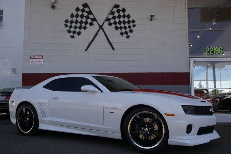 2010 CHEVROLET CAMARO SS 2DR COUPE W2SS summit white abs - 4-wheel air filtration airbag deact