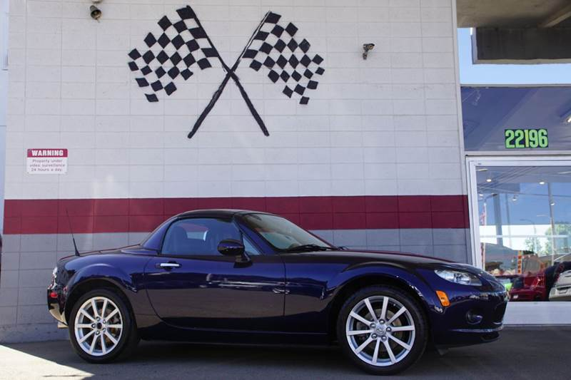 2008 MAZDA MX-5 MIATA SPORT 2DR CONVERTIBLE WPOWER HA blue 2-stage unlocking doors abs - 4-whee