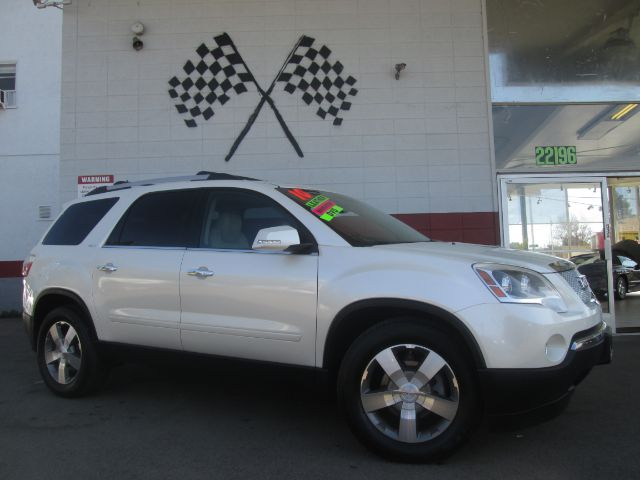 2010 GMC ACADIA SLT-2 4DR SUV pearl white fully loaded leather - navigation - moon roof - rea