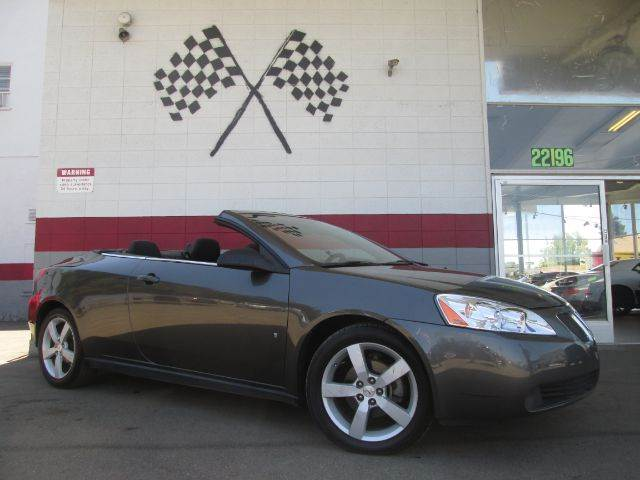 2007 PONTIAC G6 GT 2DR CONVERTIBLE grey this is a very nice pontiac g6 gt super clean inside and