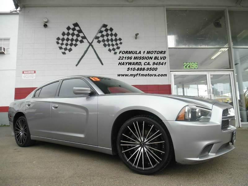 2013 DODGE CHARGER SE 4DR SEDAN grey super clean dodge charger premium wheels drives great gorg