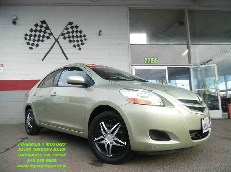 2008 TOYOTA YARIS BASE 4DR SEDAN 4A lime green antenna type - element body side reinforcements -