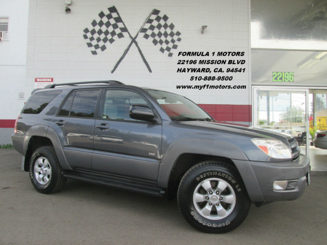 2003 TOYOTA 4RUNNER SR5 4DR SUV grey abs - 4-wheel axle ratio - 391 cassette center console c