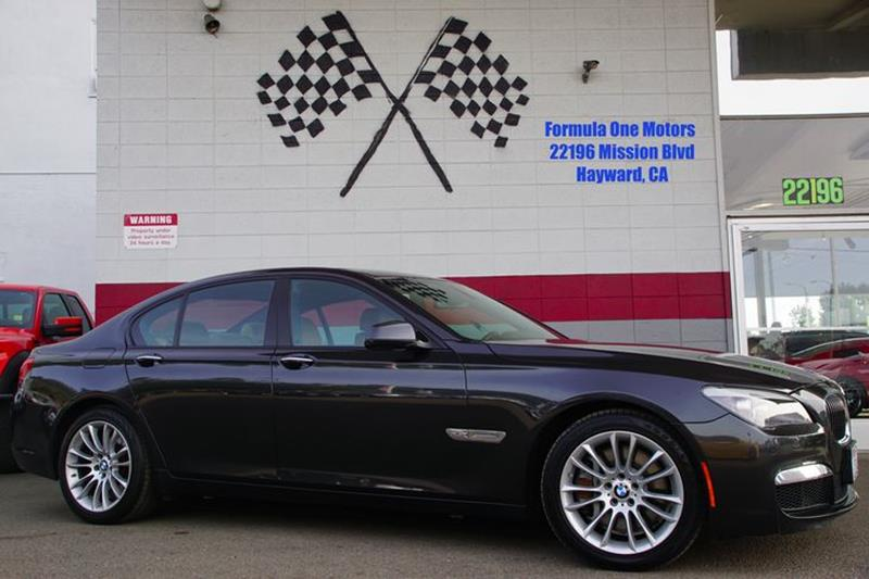 2010 BMW 7 SERIES 750I XDRIVE AWD 4DR SEDAN space gray metallic front bumper color - body-colorg