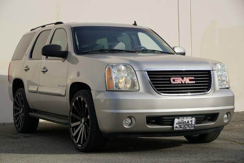 2007 GMC YUKON SLT 4DR SUV W4SA W 1 PACKAGE gold mist metallic 2-stage unlocking doors abs - 4