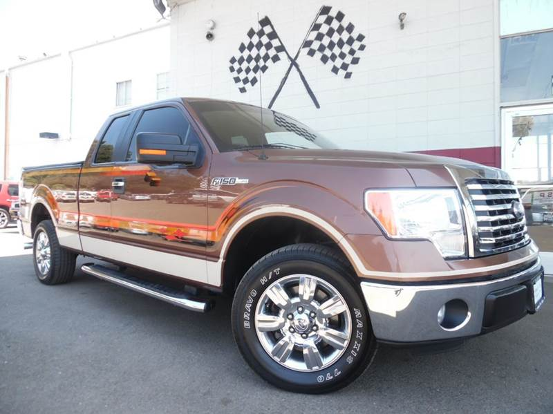 2011 FORD F-150 XLT 4X2 4DR SUPERCAB STYLESIDE 6 brown vin  1ftfx1cf2bfb14755  very powerfull ca