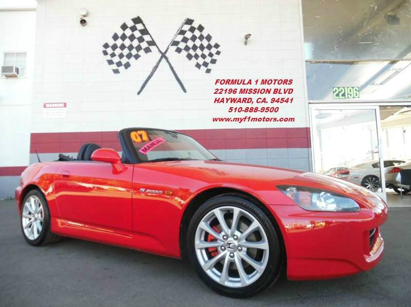2007 HONDA S2000 2DR CONVERTIBLE red this is a super clean s2000 honda with a brand new convertib
