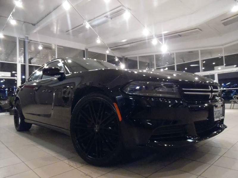 2015 DODGE CHARGER SE 4DR SEDAN black full factory warranty - brand new 22 custom wheels and tire