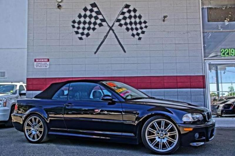 2005 BMW M3 BASE 2DR CONVERTIBLE black sapphire metallic meet our nice race-tuned 2005 bmw m3 con