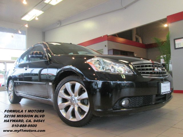 2007 INFINITI M45 45 SPORT black abs brakesair conditioningalloy wheelsamfm radioanti-brake s
