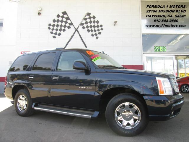 2006 CADILLAC ESCALADE BASE 4DR SUV blue loaded dvd - leather - moon roof - captain seats