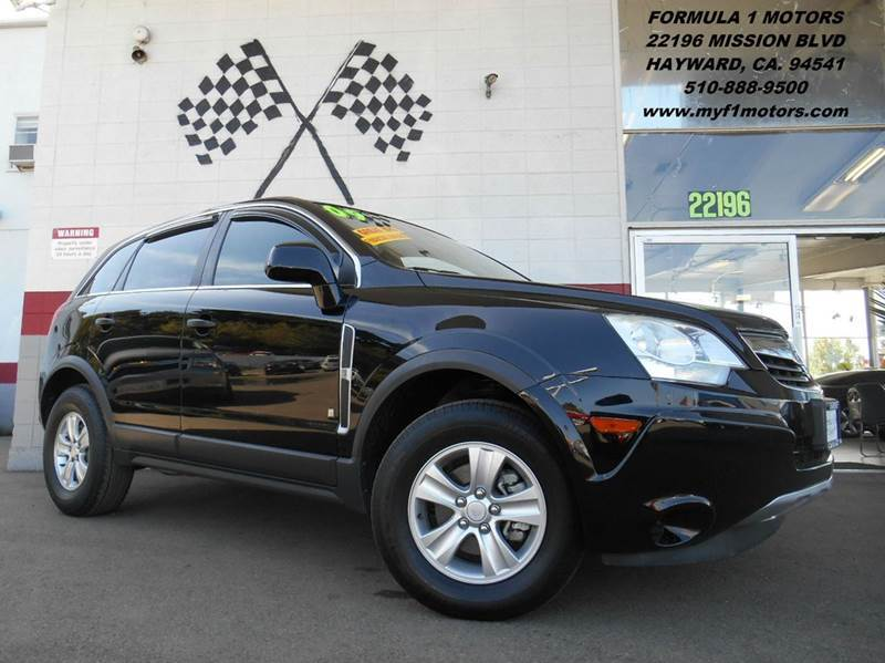 2009 SATURN VUE XE 4DR SUV black this is a very nice saturn vue perfect smaller size suv plenty