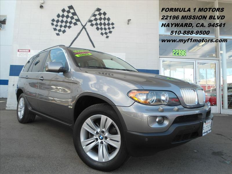 2005 BMW X5 44I AWD 4DR SUV grey this is a very nice bmw x5 rides super smooth great smaller s