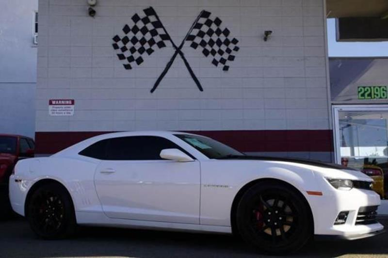 2015 CHEVROLET CAMARO SS 2DR COUPE W2SS summit white abundant power and performance are yours in