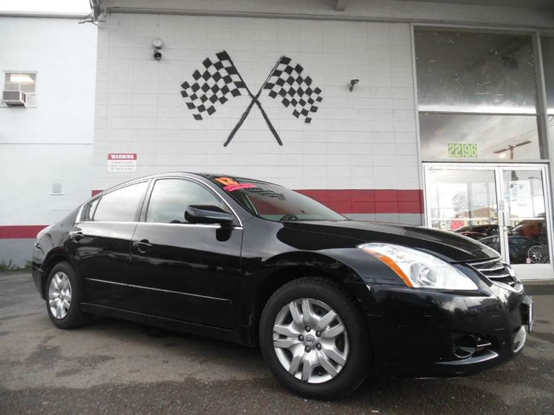 2012 NISSAN ALTIMA 25 S 4DR SEDAN black vin 1n4al2ap8cc222152 great daily driver vehicle super