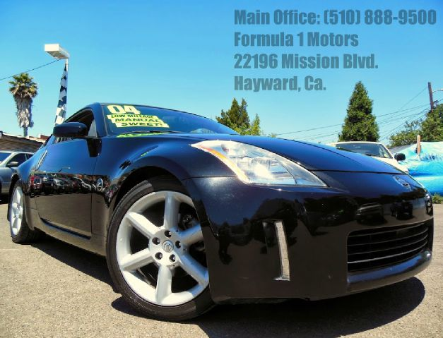 2004 NISSAN 350Z black 35l v6 manual spoiler abs brakesair conditioningalloy wheelsamfm radi