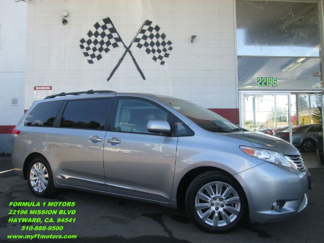2011 TOYOTA SIENNA LIMITED 7-PASSENGER 4DR MINI VAN silver loaded leather - navigation - rear