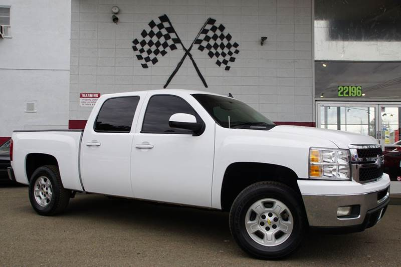 2011 CHEVROLET SILVERADO 1500 LT 4X2 4DR CREW CAB 58 FT SB summit white abs - 4-wheel alternat