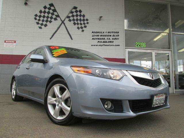 2009 ACURA TSX BASE 4DR SEDAN 5A blue 2-stage unlocking - remote abs - 4-wheel air filtration