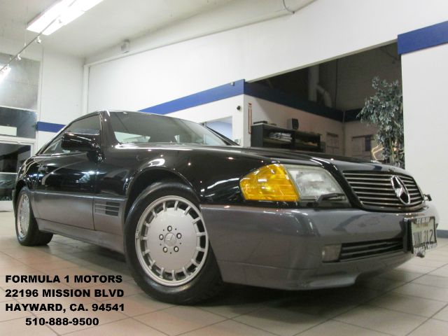 1991 MERCEDES-BENZ 500 SL COUPE black abs brakesair conditioningalloy wheelsanti-brake system