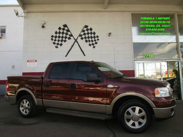 2006 FORD F-150 KING RANCH 4DR SUPERCREW STYLESI dark toreador red metallic this is a very nice fo