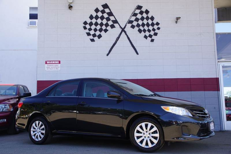 2013 TOYOTA COROLLA LE 4DR SEDAN 4A black abs - 4-wheel active head restraints - dual front air