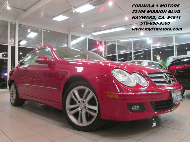 2006 MERCEDES-BENZ CLK-CLASS CLK350 COUPE red abs brakesair conditioningalloy wheelsamfm radio