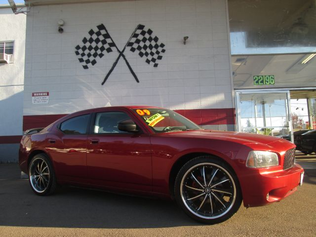 2009 DODGE CHARGER SE 4DR SEDAN red 2-stage unlocking - remote air filtration airbag deactivatio
