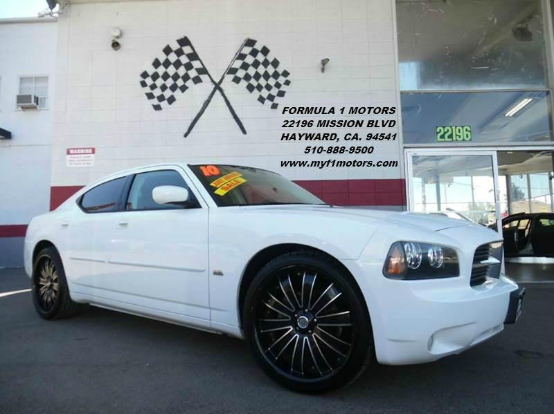 2010 DODGE CHARGER SXT 4DR SEDAN white super clean dodge charger premium wheels great color  w