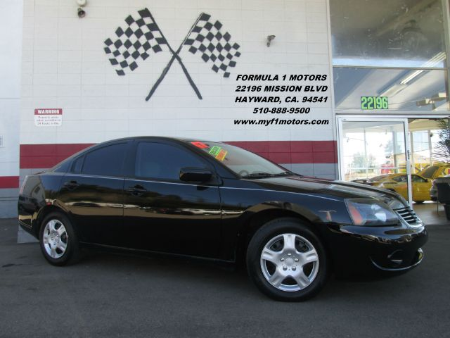 2007 MITSUBISHI GALANT ES 4DR SEDAN black 2-stage unlocking - remote abs - 4-wheel antenna type