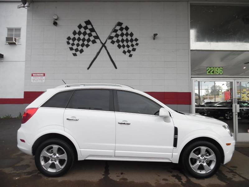 2013 CHEVROLET CAPTIVA SPORT LTZ 4DR SUV white vin 3gnal4ek0ds614369 this vehicle is in great co