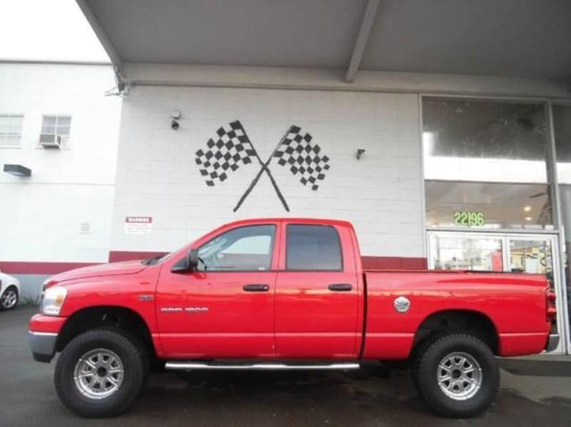 2007 DODGE RAM PICKUP 1500 SLT 4DR QUAD CAB SB