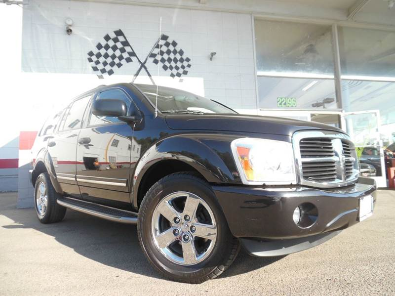 2006 DODGE DURANGO LIMITED 4DR SUV black abs - 4-wheel adjustable pedals - power airbag deactiv