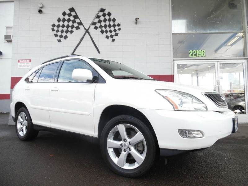 2007 LEXUS RX 350 4DR SUV white super clean lexus rx350 gorgeous inside and out leather moon r