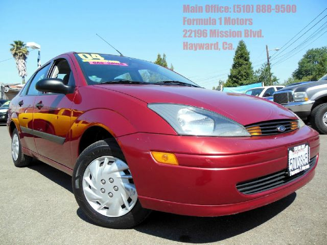 2003 FORD FOCUS LX 1-OWNER red 23l 24v economy car 1-owner clean carfax 2 wheel d