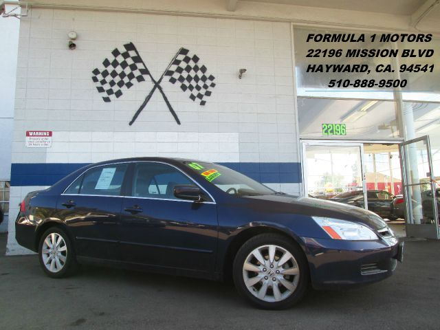2007 HONDA ACCORD EX-L V-6 SEDAN AT blue abs brakesair conditioningalloy wheelsamfm radioanti
