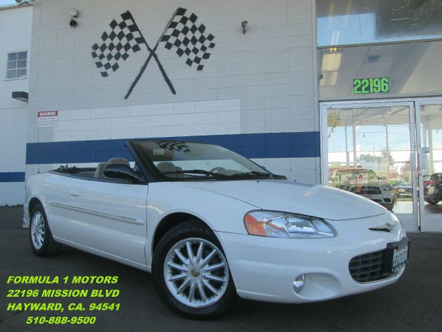2002 CHRYSLER SEBRING LXI CONVERTIBLE white air conditioningalloy wheelsamfm radioanti-brake s