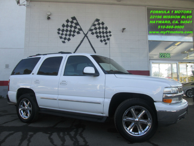 2001 CHEVROLET TAHOE LT 4WD 4DR SUV white this is a beautiful chevy tahoe clean inside and out p