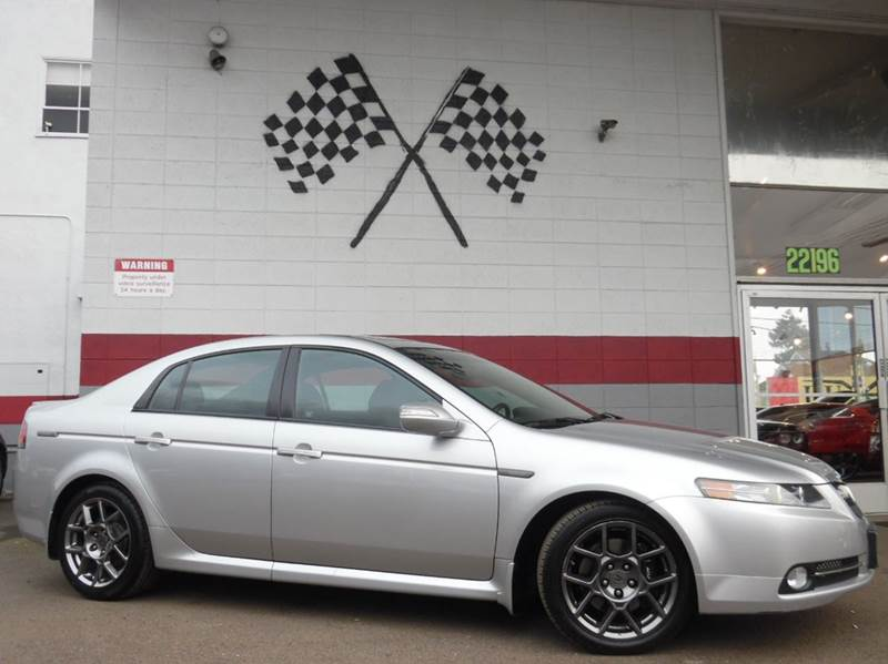 2007 ACURA TL TYPE-S 4DR SEDAN 5A alabaster silver metallic 2-stage unlocking doors abs - 4-whee
