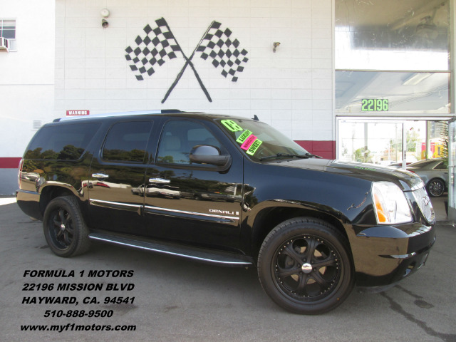 2008 GMC YUKON XL DENALI 4X2 4DR SUV black 2-stage unlocking - remote abs - 4-wheel active adju