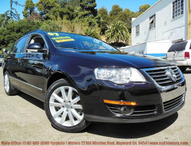 2007 VOLKSWAGEN PASSAT 36L WLUXURY PACKAGE black 36l v6 automatic wagon wluxury package leath