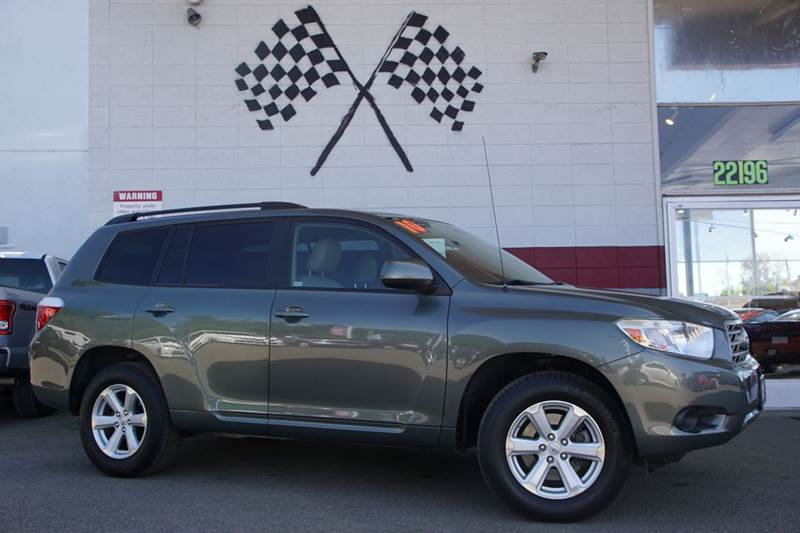 2010 TOYOTA HIGHLANDER BASE 4DR SUV 27L L4 cypress pearl abs - 4-wheel active head restraints