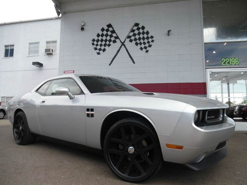 2010 DODGE CHALLENGER SE 2DR COUPE silver super clean dodge challenger premium wheels drives gr