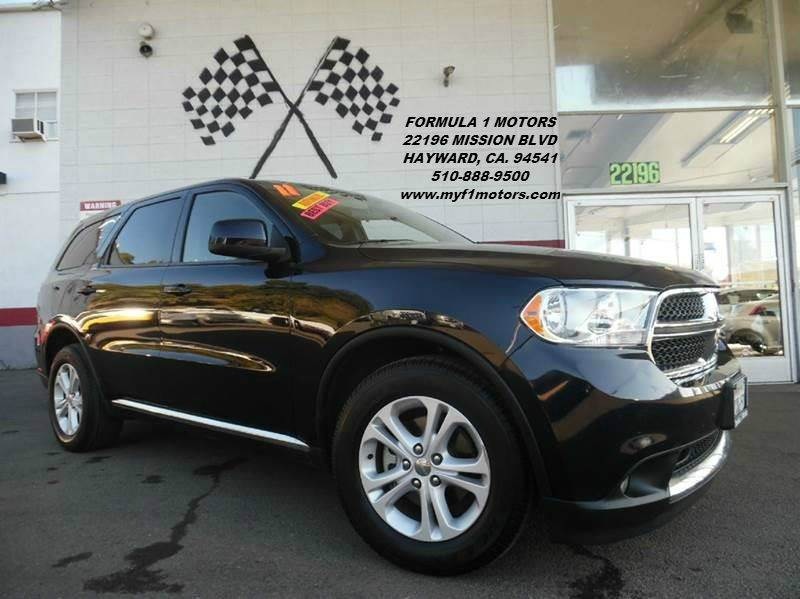 2011 DODGE DURANGO EXPRESS 4DR SUV blue 2-stage unlocking - remote abs - 4-wheel active head re
