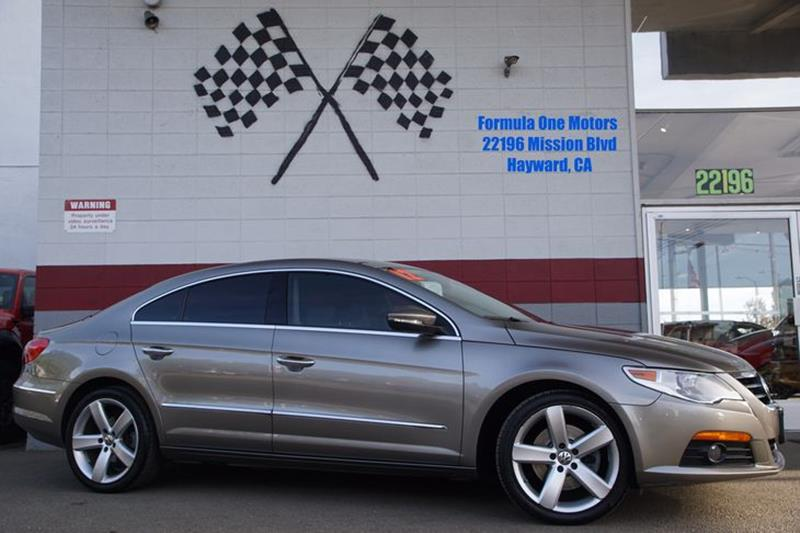 2012 VOLKSWAGEN CC LUX PZEV 4DR SEDAN iron gray metallic front bumper color - body-colorfront bu
