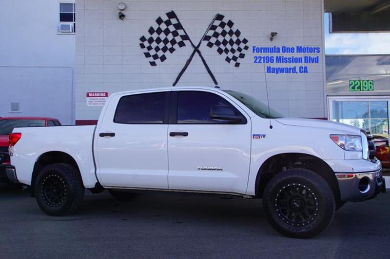 2012 TOYOTA TUNDRA GRADE 4X2 4DR CREWMAX CAB PICKUP super white get ready to get noticed in our 2