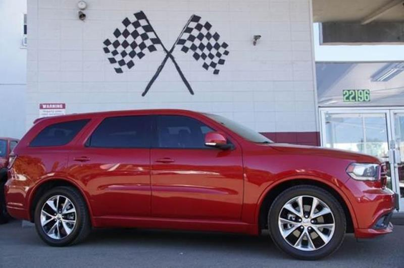 2014 DODGE DURANGO RT 4DR SUV redline 2 coat pearl be the envy of the neighborhood in our 2014 d
